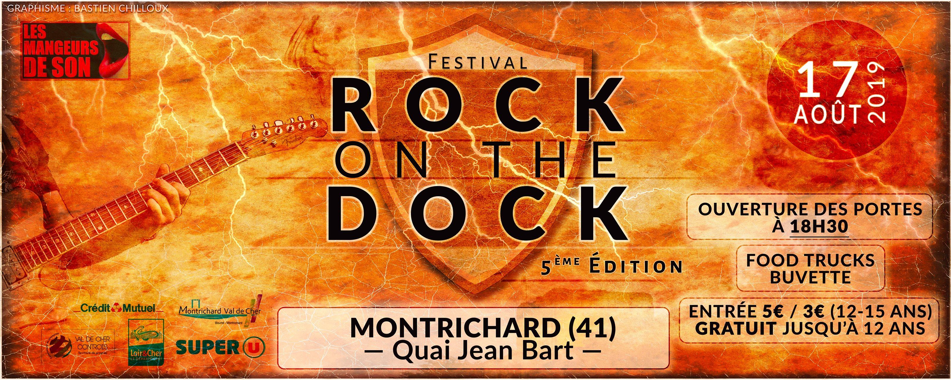 Rock on the dock Montrichard 2019