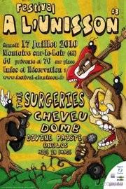 Affiche Festival a l unisson Le festival à l'Unisson, qui aura lieu le 16 juillet à Montoire, se cherchent encore une tête d'affiche (programmation en cours de changement)