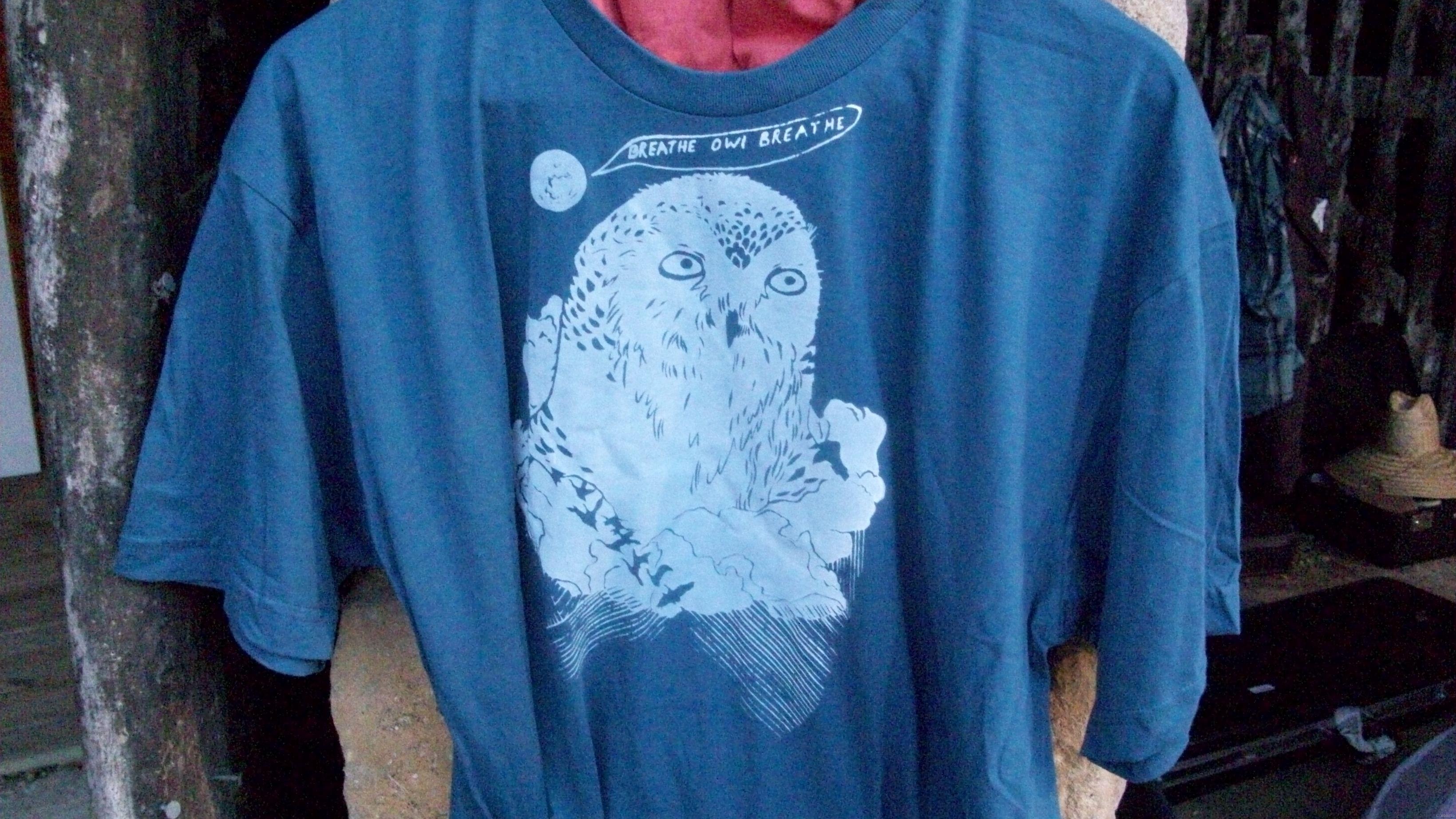 Figures Libres TShirt Breathe Owl Breathe 26 juin 2011 Figures Libres a invité deux groupes, Little Wings et Breathe Owl Breathe, qui ont fait les 1ères partie de la tournée aux USA, de Yann Thiersen, pour un concert à Thoré la Rochette, dimanche 26 juin 2011 :