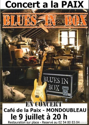 Affiche Blues in Box 20110709