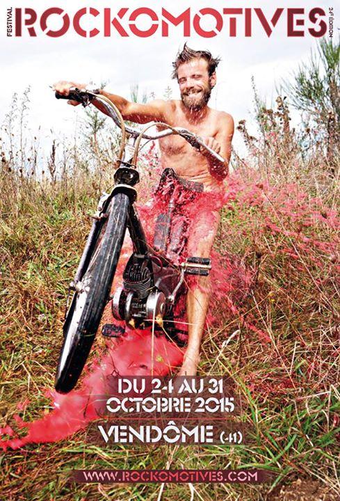 Affiche Rockos 2015 Les Rockomotives 2015 <p>du 24 au 31 octobre. Photo : Seba Lallemand © 2015</p>