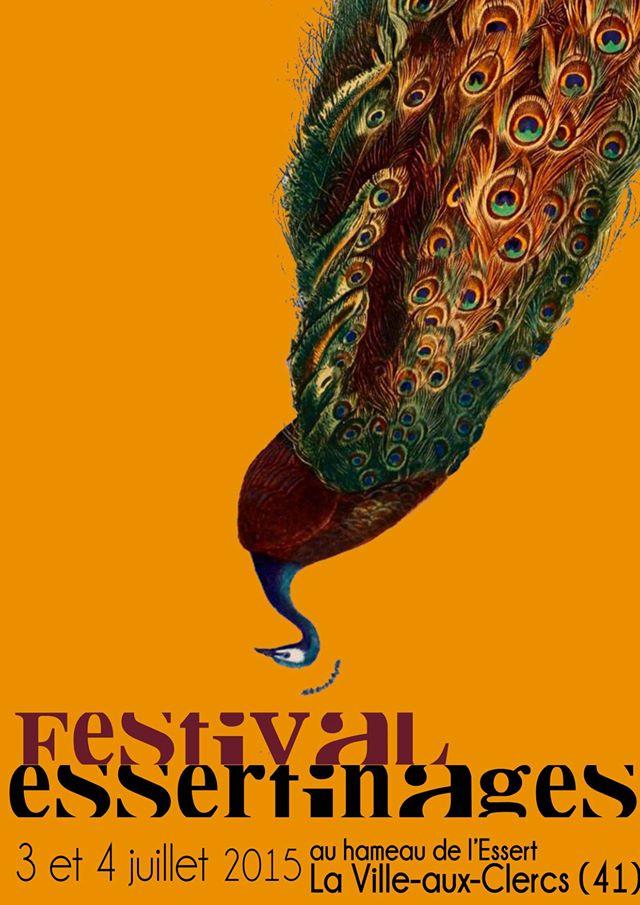 Affiche essertinages 2015 Un festival de qualité dans un petit village qui résiste encore à l'oubli : une fête du village (comme le dit Remi Delangle ici)