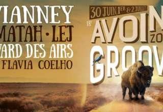 Bandeau Avoine Zone Groove Du 30 Juin au 02 Juillet 2017 à Avoine (37)