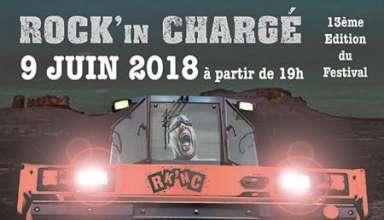 Rock in chargé 2018 #13 édition du Festival qui porte bonheur ! le 9 juin 2018 au Camping du Verdeau à Chargé(37) près d'Amboise