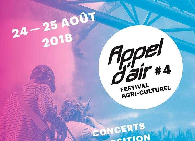 Appel Air 4 Pour cette quatrième édition Appel d'air, le choix a été fait de soutenir Adrien Guellier, nouvel installé au 1er août 2018 sur la ferme familiale situé sur la commune d'Azé.