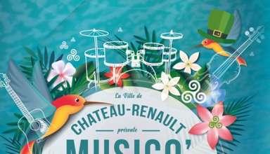 Festival Musico Chato 2018 Place Gaston Bardet, parking de la Tannerie le 22 juin 2018 à Chateau-Renault (37)