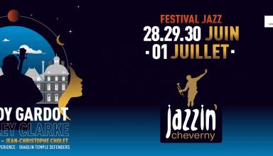 Jazzin Cherverny 2018 Le Festival Jazz'in aura lieu du 28 juin au 1 juillet 2018 au Parc du Château de Cherverny