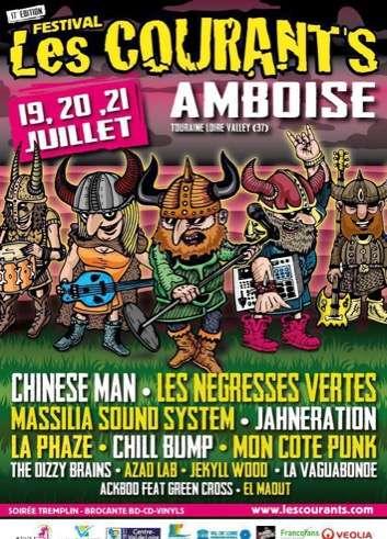 Les Courants 2018 L'ile D'or A Amboise, le 20 et 21 Juillet 2018