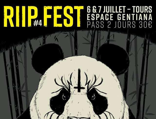 RIIP Fest 4 Flyer 6 7 juillet 2018