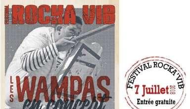 RockaVib 2018 7 Juillet Avec sa programmation de rock festif : Les Wampas, Shoepolishers et Ton Zinc, la 11ème édition de ce festival gratuit, dans la campagne sarthoise à Vibraye(72), le samedi 7 juillet 2018, se veut d'accueillir tout public, familles et amoureux de groupes de musique populaires dans le bon sens du terme ;)