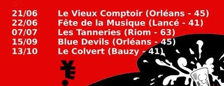Yeti tournée 2s 2018 Yeti, le groupe, ni de Vancouver, ni de New-York, mais d'Orléans, Rock'n Punk, a sorti son CD : The Worst