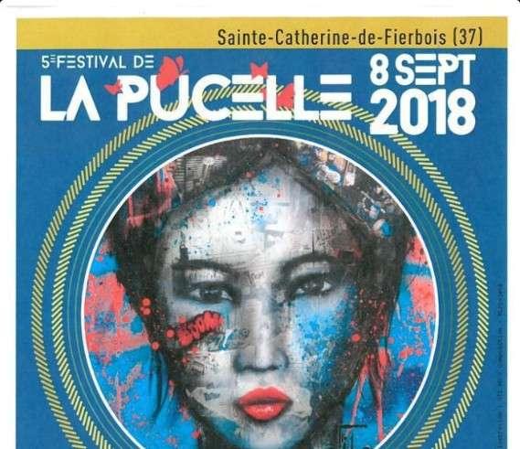 Festival La Pucelle 5 8 Sept 2018 5ème édition du Festival, qui a lieu que les années paires, aura lieu le Samedi 8 Septembre 2018 à Sainte-Catherine-de-Fierbois à 15 km au sud de Tours