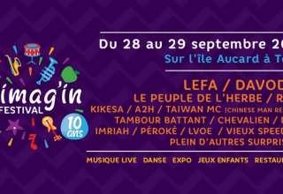 ImagIn 10 Prog Pour ses 10 ans, le Festival Imag'IN monte en puissance et fait sa révolution. Le festival déménage sur le site l'Île Aucard à Tours, le 28 et 29 septembre 2018.