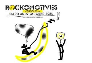 Rockomotives Pastiche La banane 2018 Les Affiches changent et les artistes aussi...