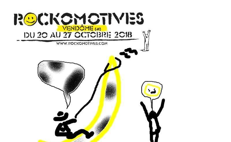 Rockomotives Pastiche La banane 2018