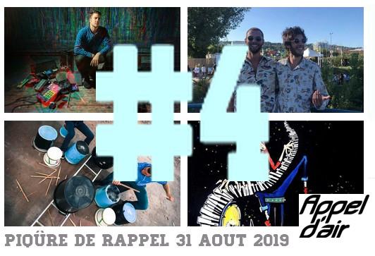 Piqure de Rappel 4 31 aout 2019