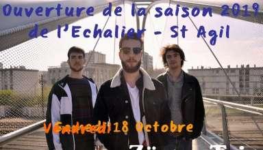 Echalier 18 Octobre 2019 1 Vendredi 18 octobre à 20h30 La Grange de Saint-Agil – Couëtron-au-Perche