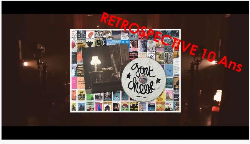 Goatcheese 10 ans nov 2020 retrospective Rétrospective
