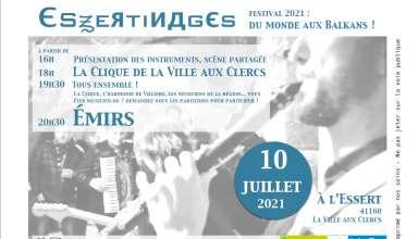 Essertinage 2021 Samedi 10 juillet aura lieu une nouvelle édition de la journée de festival musical Essertinages, à l'Essert donc, à partir de 16h.
